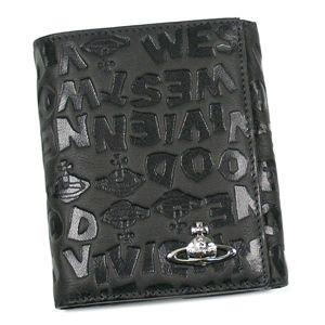 Vivienne Westwood(ヴィヴィアンウエストウッド) Wホック財布 COAST 737 グレー - 拡大画像