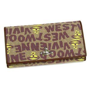Vivienne Westwood(ヴィヴィアンウエストウッド) 長財布 STONEAGE 1032 カーキー - 拡大画像
