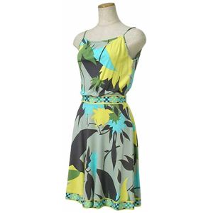 Emilio Pucci(エミリオプッチ) ドレス 91RG90 10 ライトグリーン 38 - 拡大画像