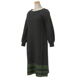 MAXMARA(マックスマーラ) WEEKEND ドレス 92 PIGNA 15 グレー S - 拡大画像