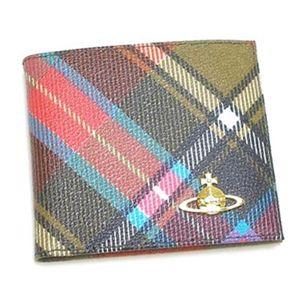 Vivienne Westwood(ヴィヴィアンウエストウッド) 二つ折り財布(小銭入れ付) DERBY 730 - 拡大画像