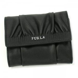 Furla(フルラ) 二つ折り財布(小銭入れ付) PJ59 O60 ブラック - 拡大画像