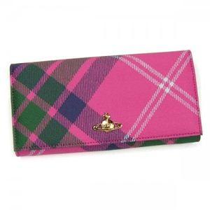 Vivienne Westwood(ヴィヴィアンウエストウッド) 長財布 DERBY 1032V ピンク - 拡大画像