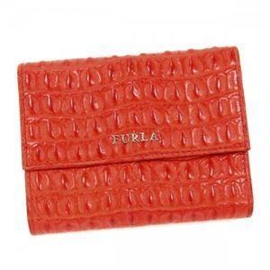 Furla(フルラ) 二つ折り財布(小銭入れ付) PJ79 PAF ダークオレンジ - 拡大画像
