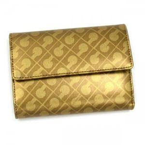 Gherardini(ゲラルディーニ) 三つ折り財布(小銭入れ付) SOFTY BASICO BS09 2555 ゴールド - 拡大画像