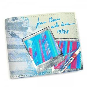 DIESEL(ディーゼル) 二つ折り財布(小銭入れ付) MONEY-MONEY X00372 H3346 ブルー - 拡大画像