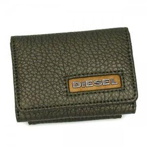 DIESEL(ディーゼル) 三つ折り財布(小銭入れ付) CORE RIDER X00165 T7434 カーキー - 拡大画像