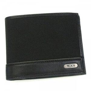 TUMI(トゥミ) 二つ折り財布(小銭入れ付) 96-1402/01 ブラック - 拡大画像