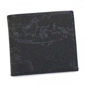 PrimaClasse(プリマクラッセ) 二つ折り財布(小銭入れ付) GEO CLASSIC CW103 1 ブラック - 拡大画像