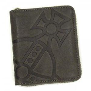Vivienne Westwood(ヴィヴィアンウエストウッド) 二つ折り財布(小銭入れ付) MANGIANT ORB 5730 ダークグレー - 拡大画像