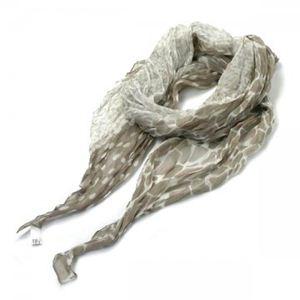 Furla(フルラ) スカーフ T468 LIN アイボリー - 拡大画像