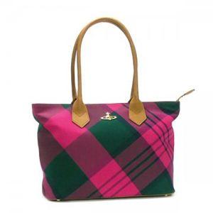 Vivienne Westwood(ヴィヴィアンウエストウッド) ショルダーバッグ SUMMER TARTAN 5745 ピンク - 拡大画像