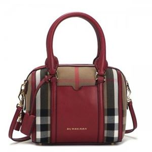 Burberry(バーバリー) ハンドバッグ LL SM ALCHESTER BHO 6080T MILITARY RED - 拡大画像