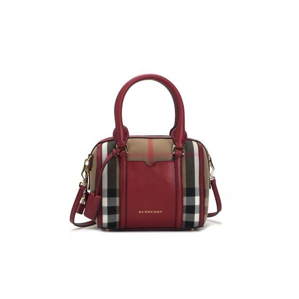 Burberry(バーバリー) ハンドバッグ LL SM ALCHESTER BHO 6080T MILITARY RED