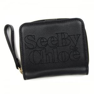 SEE BY CHLOE(シーバイクロエ) 2ツオリカード 9P7516 A73 BLACK - 拡大画像