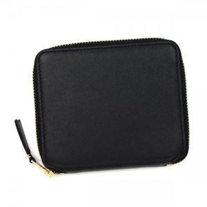 COMME des GARCONS(コムデギャルソン) 二つ折り財布(小銭入れ付) SA2100 BLACK - 拡大画像