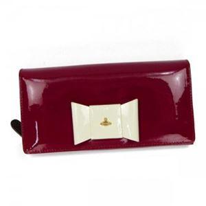 Vivienne Westwood(ヴィヴィアンウエストウッド) 長財布 1032 CILIEGIA - 拡大画像