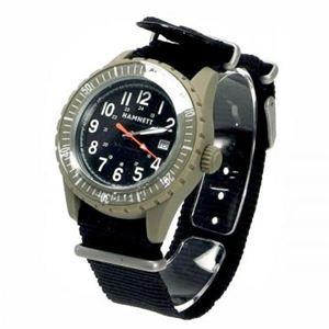 HAMNETT(ハムネット) 時計 HA290131 31 カーキー(ケース) ブラック(文字盤)