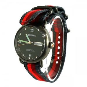 JACK SPADE(ジャック・スペード)時計 JSWURU0135 シルバー(ケース) ブラック(文字盤) - 拡大画像
