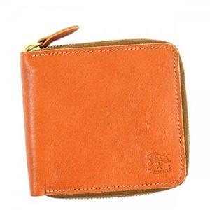IL Bisonte(イルビソンテ) 二つ折り財布(小銭入れ付) C0990 145 CARAMEL - 拡大画像