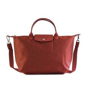 Longchamp(ロンシャン) ハンドバッグ 1515 545 ROUGE - 拡大画像