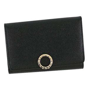 Bvlgari(ブルガリ) 2つ折小銭付き財布 280555 BK BLACK