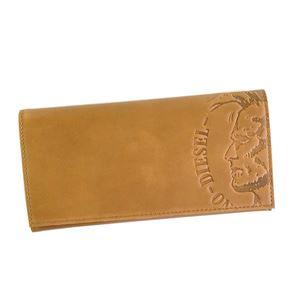 DIESEL(ディーゼル) 長財布 X04765 T2278 GOLDEN BROWN - 拡大画像