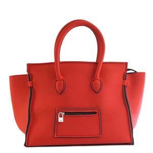 SAVE MY BAG(セーブマイバッグ) ハンドバッグ 2129N RED COAT - 拡大画像