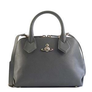 Vivienne Westwood(ヴィヴィアンウエストウッド) ハンドバッグ 42010026 P401 GREY - 拡大画像