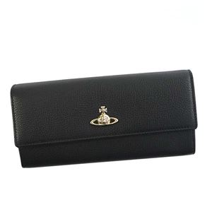 Vivienne Westwood(ヴィヴィアンウエストウッド) 長財布 51060022 N401 BLACK - 拡大画像