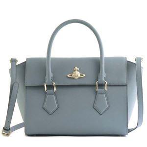 Vivienne Westwood(ヴィヴィアンウエストウッド) ハンドバッグ 42020035 K401 BLUE
