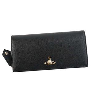Vivienne Westwood(ヴィヴィアンウエストウッド) 長財布 51060025 N460 BLACK - 拡大画像