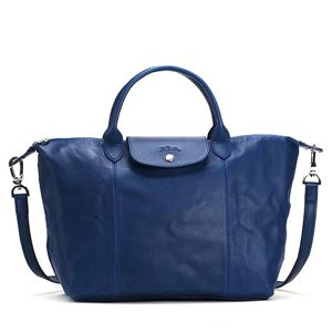 Longchamp(ロンシャン) ハンドバッグ 1515 127 BLUE - 拡大画像