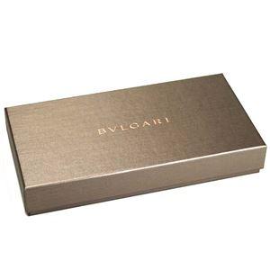Bvlgari(ブルガリ) L字ファスナー長財布 280065 BLACK
