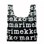marimekko(マリメッコ) 折りたたみトートバッグ 41395 910 BLACK/WHITE