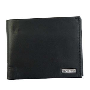Calvin Klein(カルバンクライン) 2つ折小銭付き財布 79796 BLK BLACK - 拡大画像