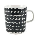 marimekko(マリメッコ) マグカップ 63296 190 WHITE BLACK/RASYMATTO