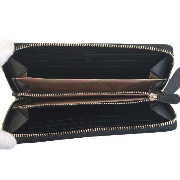 Vivienne Westwood(ヴィヴィアンウエストウッド) ラウンド長財布 51050022 N401 BLACK