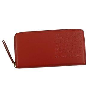 Maison Margiela(メゾン マルジェラ) ラウンド長財布 S56UI0110 T4327 RED - 拡大画像