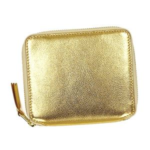 COMME des GARCONS(コムデギャルソン) 2つ折小銭付き財布 SA2100G GOLD