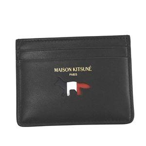 MAISON KITSUNE(メゾンキツネ) カードケース AU05305LC0003 BK BLACK - 拡大画像