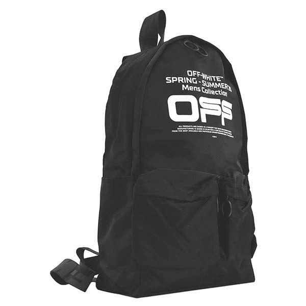 OFF-WHITE(オフホワイト) バックパック  OMNB003R20E48004 1001 BLACK WHITE