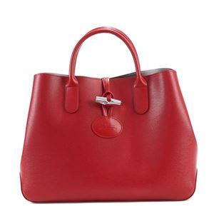 Longchamp(ロンシャン) ハンドバッグ  1986 545 ROUGE - 拡大画像