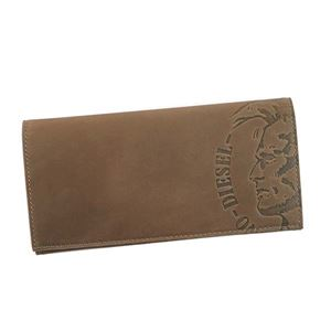 DIESEL(ディーゼル) フラップ長財布  X04765 T8014 ANTHRACITE