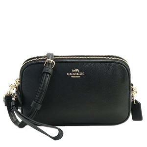 Coach(コーチ) ナナメガケバッグ  65547 LIBLK BLACK - 拡大画像