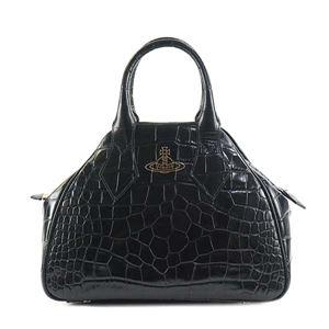Vivienne Westwood(ヴィヴィアンウエストウッド) ハンドバッグ 42020018-40050 BLACK - 拡大画像