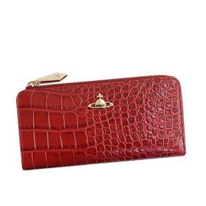 Vivienne Westwood(ヴィヴィアンウエストウッド) ラウンド長財布 51050010-40050 RED DALIAH - 拡大画像