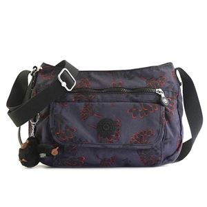 Kipling(キプリング) ナナメガケバッグ  K13163 T27 FLORAL NIGHT - 拡大画像