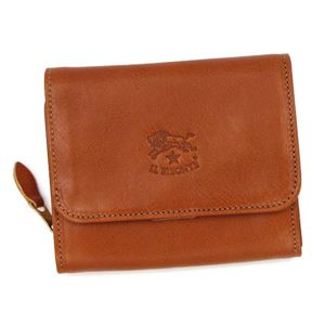 IL Bisonte(イルビゾンテ)二つ折り財布(小銭入れ付)  C0883 145 CARAMEL - 拡大画像