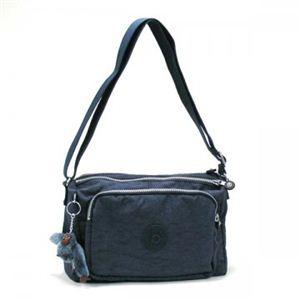 Kipling(キプリング) ショルダーバッグ BASIC K12969 521 ブラック/ブルー H17.5×W27×D15 - 拡大画像